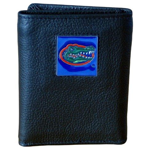 NCAA Deluxe dreifach Faltbare Geldbörse aus Leder, Herren, schwarz, Einheitsgröße