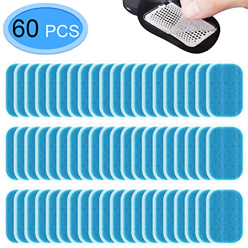 MENOLY 60 Pcs 30 Packs Abs Trainer Replacement Gel Muscle Toner Pads Abdominal Muscle Toner Gel Pads for Abs Toner ABS Stimulator Abdominal Muscle Trainer