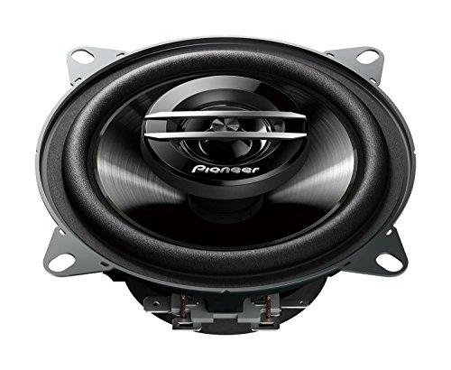 Pioneer TS-G1020F 2-Weg-Koaxiallautsprecher für Autos (210 W), 10 cm, kraftvoller Klang, IMPP-Membran für optimalen Bass, 30 W Eingangsnennleistung, 43 mm Einbautiefe, schwarz, 2 Lautsprecher