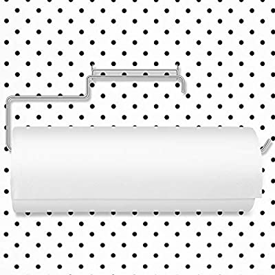 Amazon - 40% Off on Pegboard Paper Towel Holder Stainless Steel Pegboard Organization Hooks for Workshop