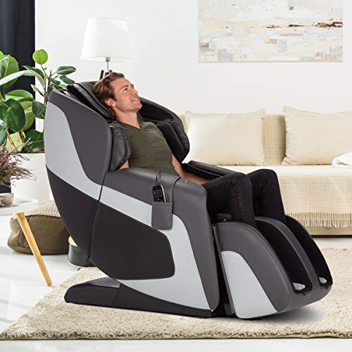 Human Touch Sana Full-Body Massage Chair - 9 Wellness Programs, Zero Gravity Seating - Includes LCD Remote Control, Gray