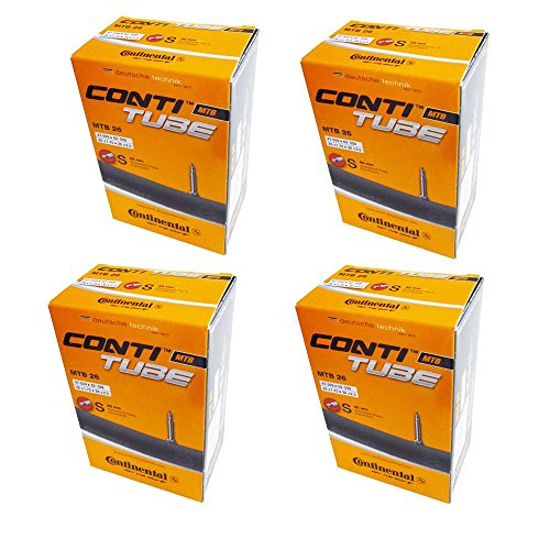 4 x Continental MTB 26 Mountain Bike inner tube Presta Valve 1.75 to 2.5