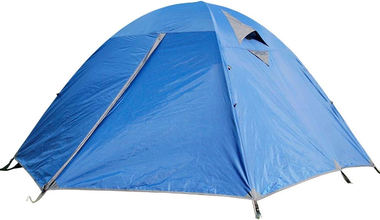 CATRP Marke Marke Marke 3-4 Person Draussen Kuppelzelt Verdicken Grüneidigung Regensturm Familienzelt Für Camping Wandern,Blau B07P1SWYCQ  Globale Verkäufe 08ca20