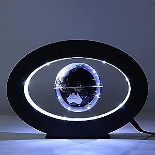 FUZADEL Floating Globes Levitating Globes Levitation Floating Globe Magnetic World Map Colorful LED Lamp