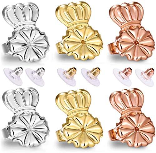 Original Magic Earring Backs for Earrings | Ear Support Earing Lifters | Lifts Heavy Back Lobe Backing BAX | Secure Earlobe Bullet Lifter…