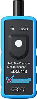 VXSCAN El50448 Auto Tire Pressure Monitor Sensor Relearn TPMS Reset Tool OEC-T5 for GM Series Vehicle 2010-2018