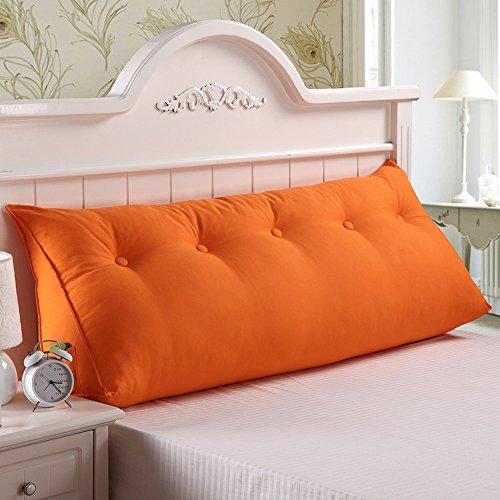 G-Y Grand Coussin De Dos De Toile De Coton, Coussins Lavables De Triangle De Sofa De Noyau, Démontable Et Lavable Coussin (Couleur : # 2, taille : 120 * 20 * 50cm)