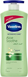 Vaseline intensive care body lotion with Aloe Soothe, 400ml