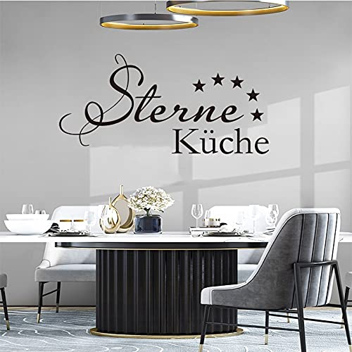 Star Kitchen Wall Sticker Mural Vinyl Art Wallpaper Kitchen Decoration Carving Wall Decal Home Decoration House Decoration -52.2x106.2cm