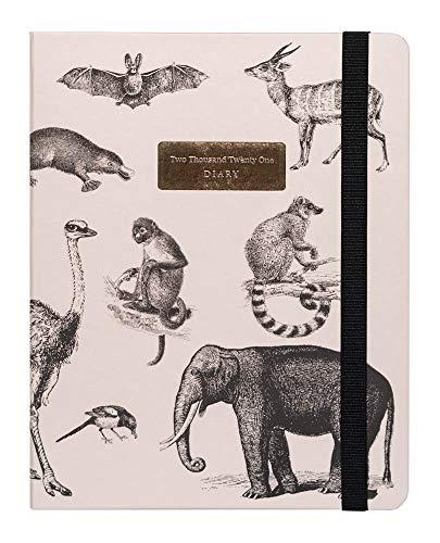 Grupo Erik Kokonote - Agenda 2020/2021 SV Premium Animals Vintage, 17 meses (16,5x20 cm) (ASVP2007)