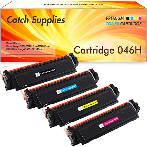 Catch Supplies Replacement CF210X High Yield Black Toner Cartridge for The HP 131X Series |2,400 Yield| Compatible with The HP Laserjet Pro 200 Color M251n, M251nw, MFP M276n, M276nw Printer Models.