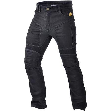 Trilobite Motorrad Herren Jeans Parado Schwarz Größe 32 Lange Bekleidung
