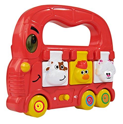 Simba - 104011651 - Bus à Pousser ABC avec Lumière Et Son