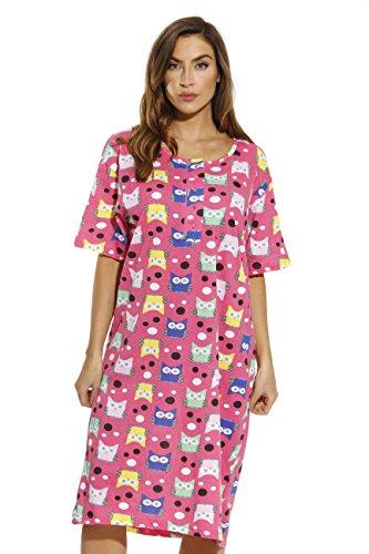 Just Love 4360-O-10063-S Short Sleeve Nightgown/Sleep Dress for Women/Sleepwear