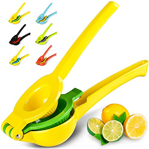 Metal Lemon Lime Squeezer - Manual Citrus Press Juicer