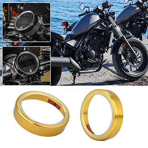 AHOLAA Motorcycle Speedometer Instrument Gauge Meter Ring Odometer Shell Ring for Honda Rebel CMX 300 500 CMX500 CMX300 2017 2018 2019 2020 (Gold)