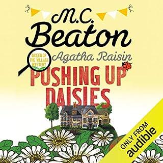 Agatha Raisin: Pushing Up Daisies cover art