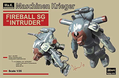 Hasegawa 64116 1:35 Fireball SG 'Intruder' -Two Kits in The Box Plastic Model
