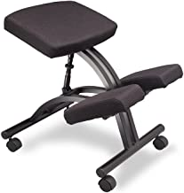 Pro Ergonomic Kneeling Chair- by Healthy Back. Infinite Variable Angle for Improved Back and Posture Support - Flexible Seating Posture Chair, Kneeling Chairs for Work Desk or at Home