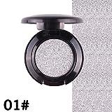 13 Colors Available Shimmer Eyeshadow Diamond Pearl Metallic Color Eye Cosmetics Palette,Fheaven Eyeshadow Palette Ultra Pigmented Eye Shadow Powder (A)