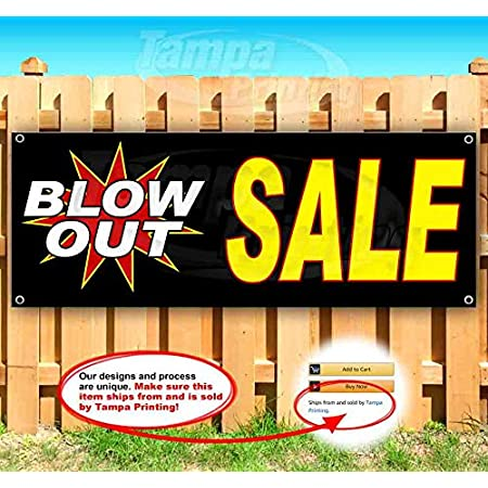 Exit Arrow 13 oz Banner Heavy-Duty Vinyl Single-Sided with Metal Grommets