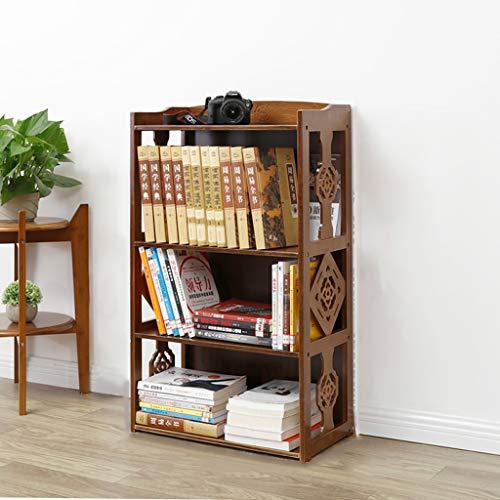 QARYYQ boekenkast, vintage, woonkamer, hal, rek, kast, album, opslag in rek voor tentoonstelling, 43 x 28 x 101 cm