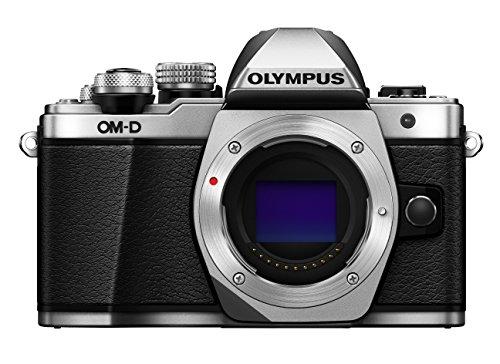 Olympus OM-D E-M10 Mark II cámara de Sistema Micro Cuatro Tercios, 16 megapíxeles, estabilizador de Imagen de Cinco Ejes, Visor electrónico, Plata