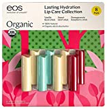 Organic Smooth Stick eos Lip Balms 8 Pack - For delightfully soft lips
