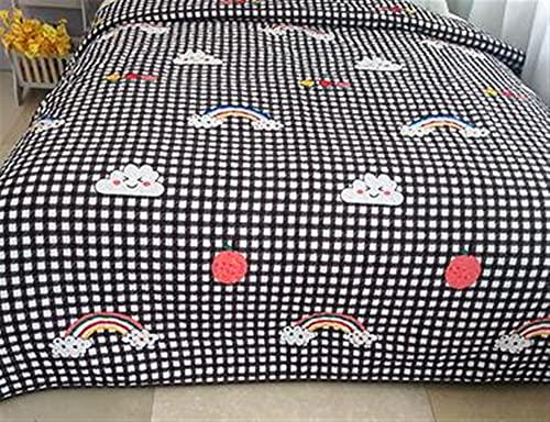 Zasinege Edredón de verano para cama individual, tamaño Queen, King, con aire acondicionado, colcha (color: 9 Reino Unido, tamaño: 150 x 200 cm)