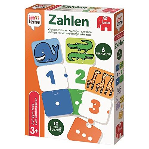Jumbo Spiele 19547 ich lerne Zahlen Lernspiel für Kinder, Ab 3 Jahren