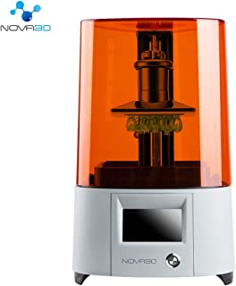 """NOVA3D Elfin LCD 3D Printer with 4.3"""" Smart Touch Screen, UV Photocuring 3D Resin Printer Off-Line Print and WiFi, 5.2"""