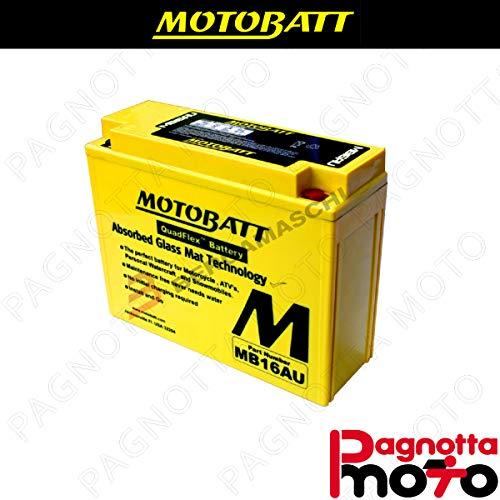 E06004 BATTERIA BATTERY PRECARICATA MOTOBATT MB16AU DUCATI MONSTER CITY DARK 750 19991999 12 V 20_5 AH 207 X 72 X 164 MM ACIDO