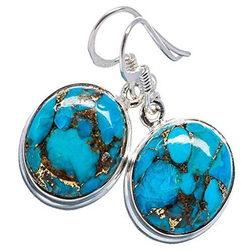 yotijar Pendientes Gota de Agua Azul en Forma de Lágrima