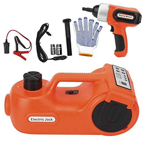 Great Features Of DC12V 5T 3-in-1 Car Electric Jack Set Multi-Function Impact Wrench Electric Hydrau...