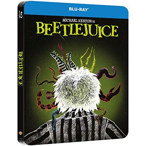 Lottergeist Beetlejuice, Beetlejuice, Steelbook, Blu-ray mit deutschem Ton, UK-Import, Uncut, Regionfree