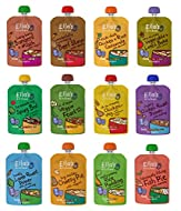 Ella's Kitchen Stage 2 Mixed Case Selection from 7 Month 11 x 130g + 1 x 80g