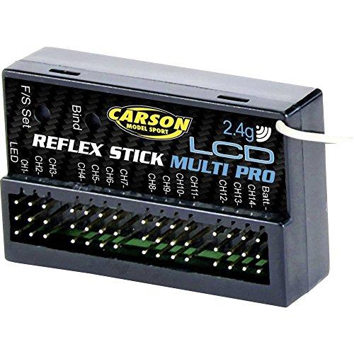 Carson 500501544 Empfäng. Reflex Stick Multi Pro LCD 2.4G