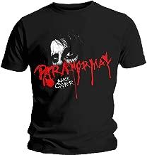 Alice Cooper Men's Paranormal Eyes Slim Fit T-Shirt Black