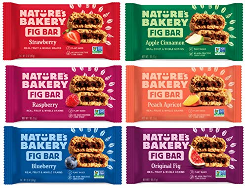 Whole Wheat Bakery Fig Bars Variety Pack 12ct Apple Peach Apricot Blueberry Raspberry Fig Strawbery