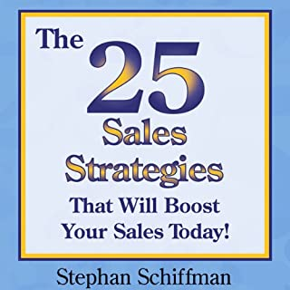 The 25 Sales Strategies That Will Boost Your Sales Today! cover art