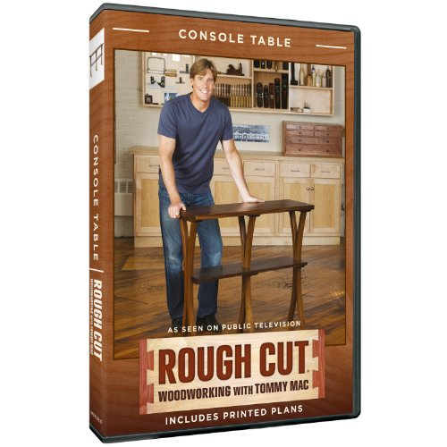 Rough Cut - Woodworking Tommy Mac: Console Table [Import USA Zone 1]