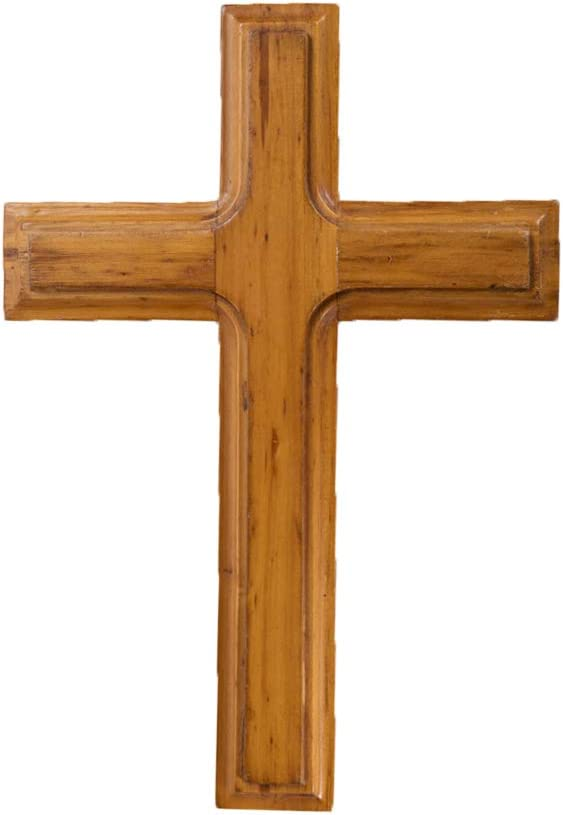 /æ/— Cruz de madera cruz de Jes/ús cristiana cruz cat/ólica de oraci/ón