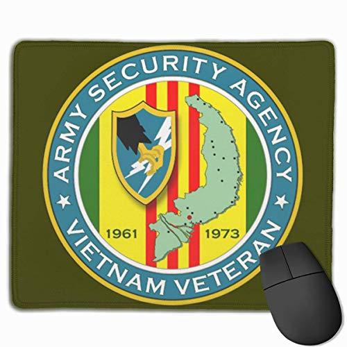 Not Applicable Mouse Pads,Alfombrilla De Ratón,Mousepad,Mouse Pad,Agencia De Seguridad del Ejército-Alfombrilla De Ratón para Ratones Veteranos De Vietnam para Pc Portátil De Oficina En Casa