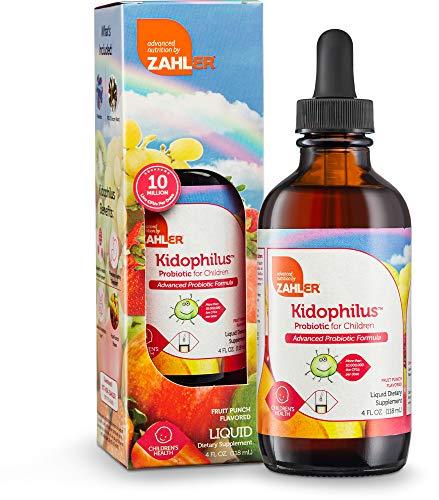 Zahler Kidophilus Liquid Probiotic