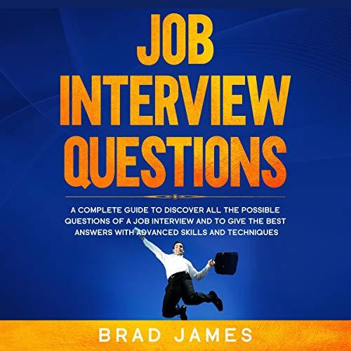Job Interview Questions audiobook cover art
