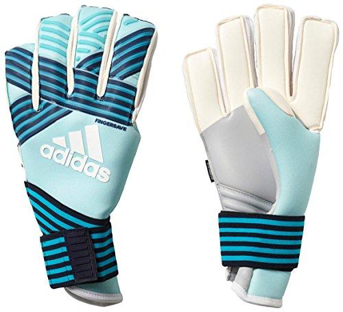adidas Unisex Ace Trans FS Pro–Guantes de Portero, Unisex, Color Energy Aqua f17/energy Blue s17/legend Ink f17/Trace Blue f17, tamaño 11