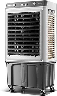 Ventilador industrial de aire acondicionado, enfriador de aire, ventilador de enfriamiento con control remoto y función de temporizador, 10000 metros cúbicos / hora, adecuado para 50 metros cuadrado