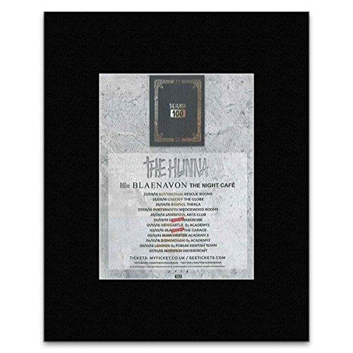 NME The Hunna - wrzesień / październik 2016 Mini plakat - 25,4 x 20,3 cm