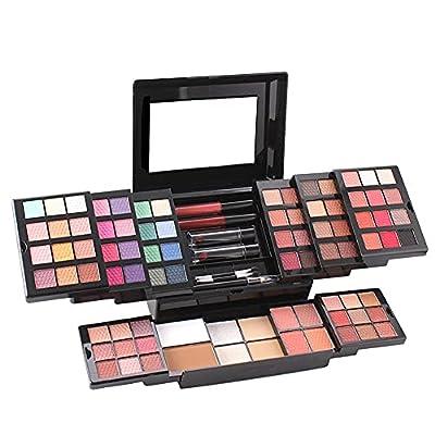 MISS ROSE Cosmetic Make up Palette Set Kit,Comb...