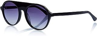 Mustang Unisex-Yetişkin Güneş Gözlükleri MU 1582 01, Siyah, 54